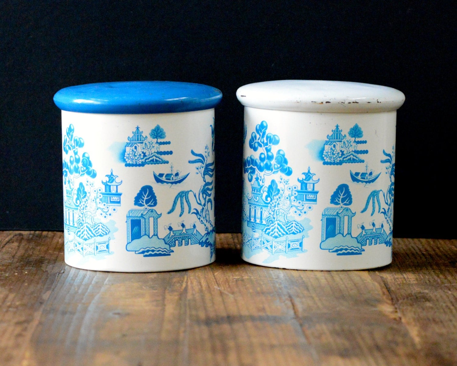 canister sets australia pair of willow australia tin canisters