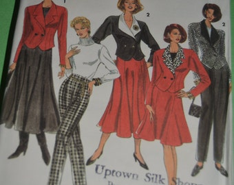 Simplicity 6549 Misses Pants, Skirt in two lengths pants and lined Jacket Sewing Pattern  UNCUT Sizes 12 - 16