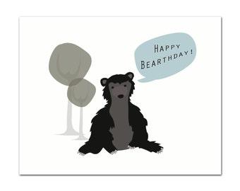 Happy Bear-thday - Card