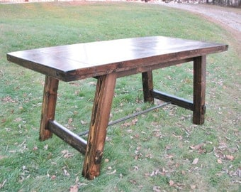 Dining Table, FREE SHIPPING, Harvest, Modern, Rustic, Industrial