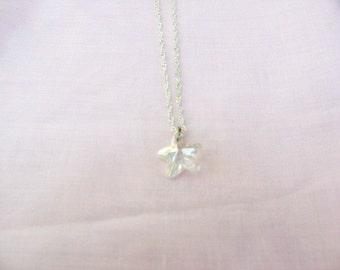 Crystal Star  Necklace / women's jewelry / jewelry / teen Jewelry / weddings / briedesmaids / women