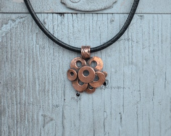 Copper Layered Circles