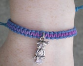 Graduation Owl Bracelet