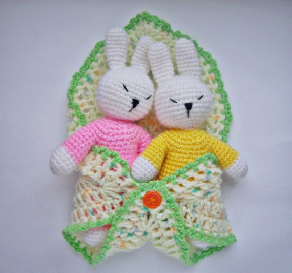 Amigurumi Toys For Babies : PDF PATTERN crochet toy amigurumi Little sleepy baby