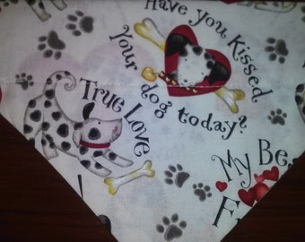 I Love My Dog Bandana!!