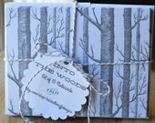 Into the Woods Flat Notecards, set of 10 with envelopes, Stationary Greeting Cards