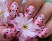 Cherry Blossom Hand made custom nail polish