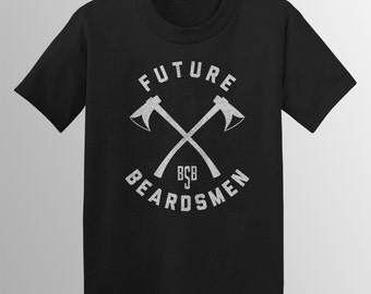 Future Beardsmen Youth/Kids T-shirt on American Apparel 2201 & 2105