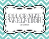 COLOR VARIATION CHARGE... For Any Instant Download Listing