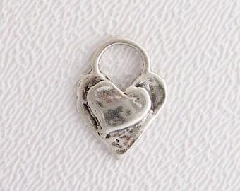 ONE Layered Heart Charm