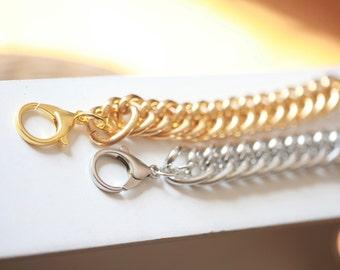LARGE Chain Bracelet - Celebrity bracelet - Chunky Large Chain Link Bracelet - Chain bracelet
