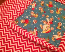 Popular items for space nursery decor on etsy for Space minky fabric