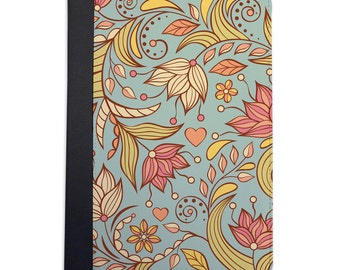 Lovely Spring Floral Pattern Folio Case For The iPad Mini