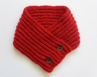 Knit / Red Neck Warmer