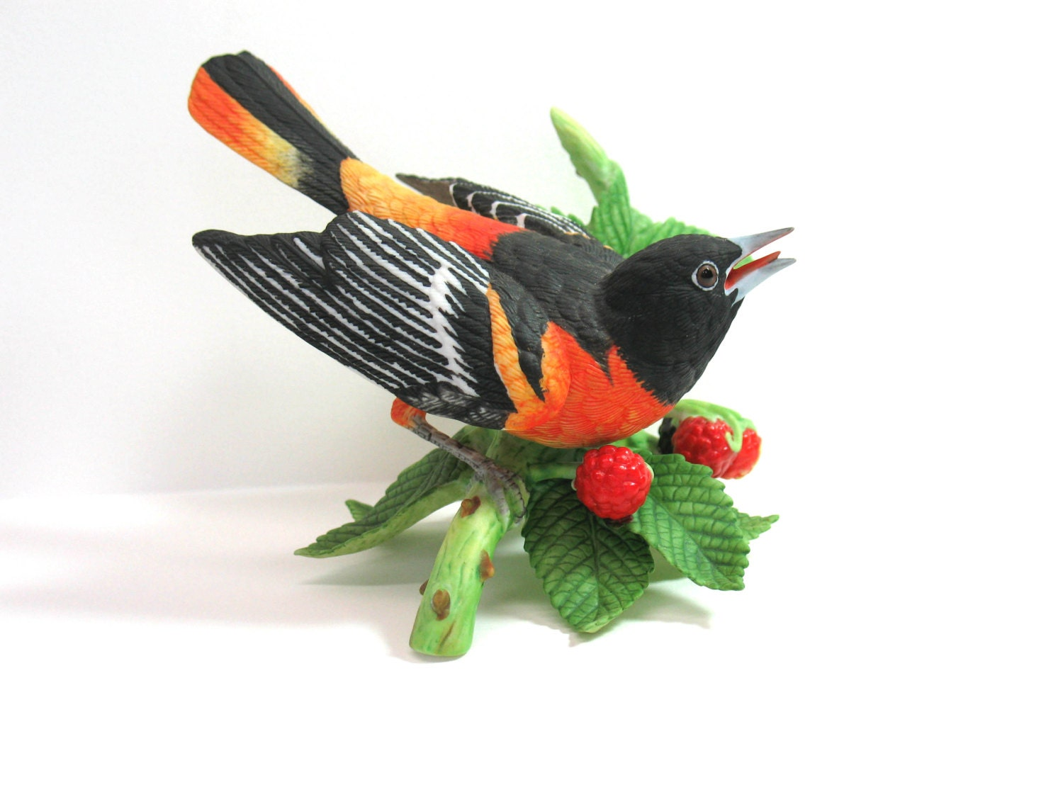 Lenox Bird Baltimore Oriole Figurine Porcelain By