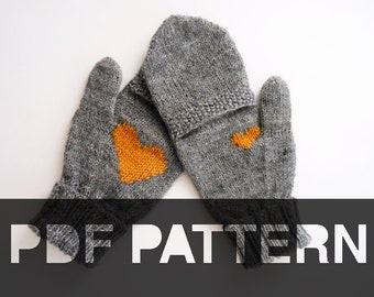Popular items for flip top mittens on Etsy