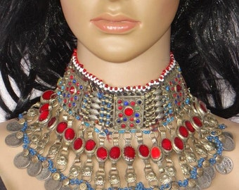 Vintage Kuchi Tribe Necklace