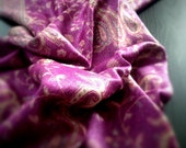 Holiday Gifts for Her Fucsia Paisley Scarf Pashmina, Women Fashion Accessories, Fall Winter Scarves, Other Colors