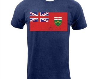 Ontario Provincial Flag - Tri Indigo