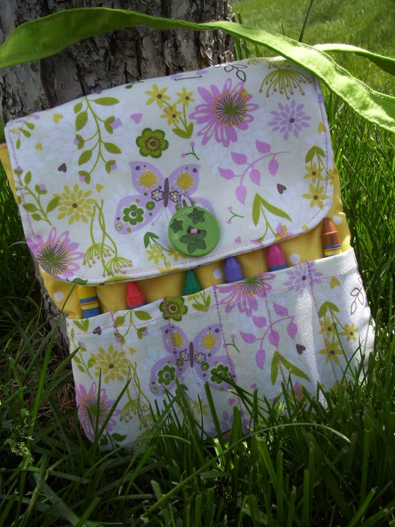After Christmas Delivery, Butterfly Crayon Purse, Toddler Purse