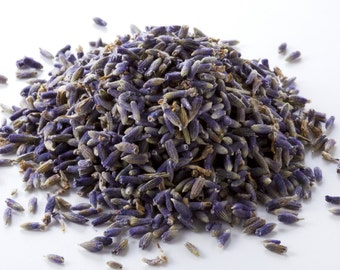1/4lb HIGHEST FRAGRANCE Organic Dried Lavender 8oz 2oz 1oz // Bulk French Biodegradable Ecofriendly Wedding Flower Lavendar 114g 57g
