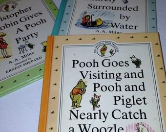 Winnie the Pooh - Original Pooh Treasury - Set of 3 Books 1990