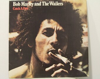 "Bob Marley and the Wailers - ""Catch a Fire"" vinyl record"