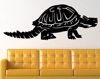 Meiolania Dinosaur Prehistoric Animal Vinyl Wall Art Graphic Decal