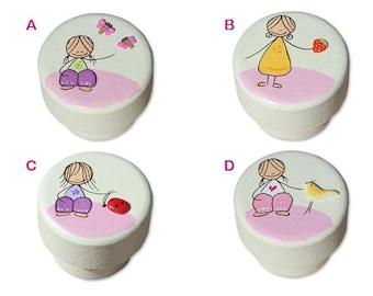 Dresser Knobs, Wooden drawer knob, kids knobs,baby nursery knobs,Colorful drawer knobs for kids room
