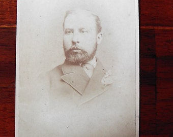 Carte De Visite portrait of man
