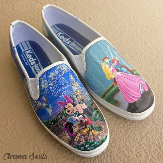 how to make disney shoes