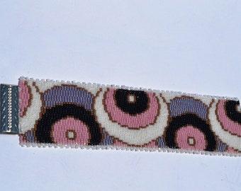 Beaded bracelet, Handmade jewelry, Japanese beads, Multicolor bracelet,  Israel jewelry, Christmas gifts