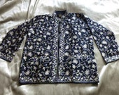 vintage embroidered Kashmir / Kashmiri wool jacket by Gaurav textiles