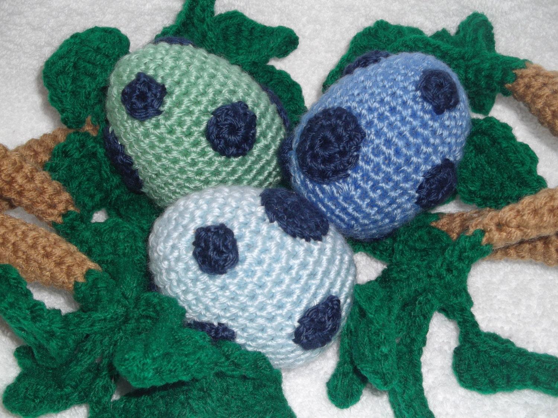 Amigurumi Dragon Egg : Set of 3 Crocheted Amigurumi Dinosaur Dragon Eggs by ...