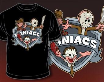 Maniac - SD1122- Animaniacs Parody Freddy Krueger Jason Chain Saw Massacre