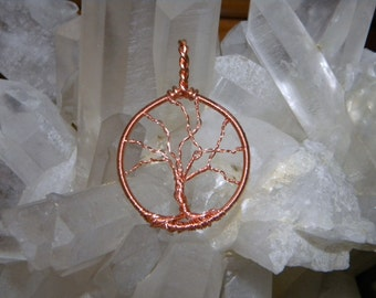 Copper Tree of Life- Reiki Charged