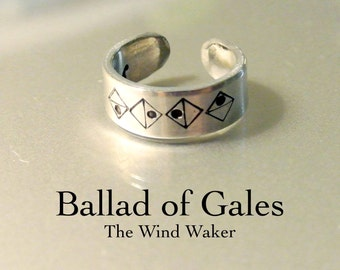 Ballad of Gales // The Wind Waker Song Ring