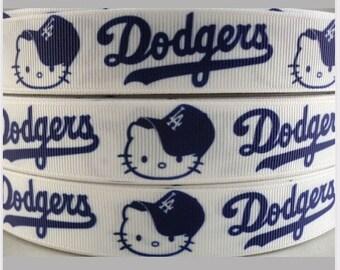 Hello kitty Dodgers 7/8  Ribbon