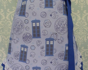 TARDIS Half Apron