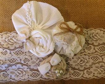 Wedding garter, Rustic wedding Garter, burlap garter, ivory garter   Fall wedding garter, bridal Garter   wedding garters, garters, bridal