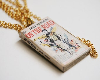 On the Road's mini book necklace