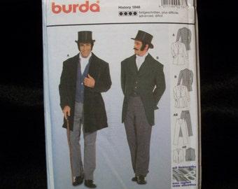 burda 2767 sizes 34 to 50 English Gentleman