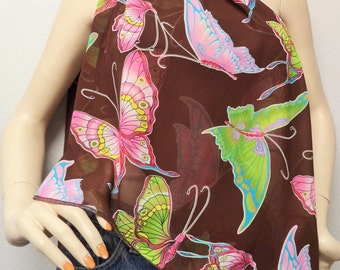 BIG Butterflies Gorgeous  Long Neck Scarf Gift Idea Fall Fashion