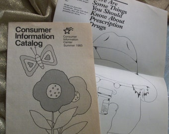 Summer 1983 Consumer Information Catalog Booklet
