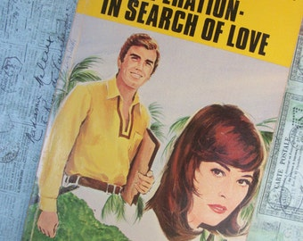 "Vintage 1970's Harlequin Romance Novel - ""Operation- In Search of Love"" - By Hilary Wilde"