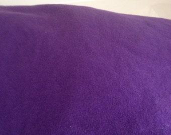 royal purple fitted crib /toddler sheet