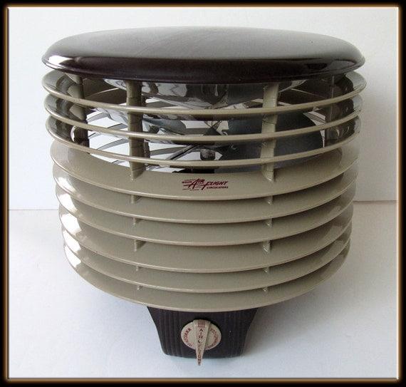 Vintage Floor Fans : Vintage s hassock speed floor fan welch air flight round