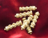 Gold-Plated Aiglets for Historical Reenactment or Fancy Dress