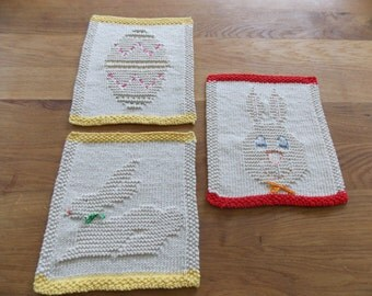 3 Easter knitting patterns