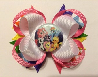 My Little Pony Bottlecap Loopy Hairbow